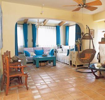 Stilovi ure enja doma for Sala de estar estilo mediterraneo